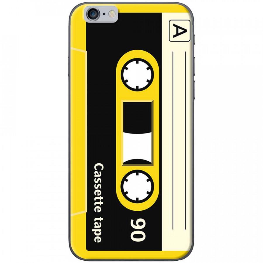 Ốp lưng dành cho iPhone 6 Plus, iPhone 6S Plus mẫu Cassette vàng