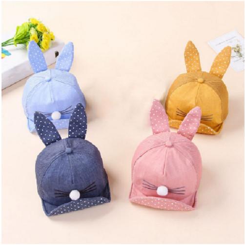 Mũ tai thỏ và tai gấu cho bé