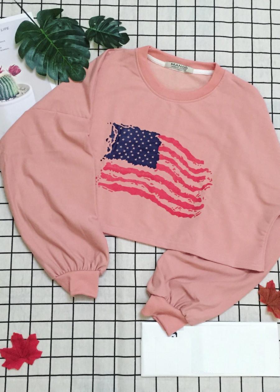 Áo croptop tay dài không nón hình cờ Mỹ - 2375170 , 6691505365615 , 62_15627906 , 160000 , Ao-croptop-tay-dai-khong-non-hinh-co-My-62_15627906 , tiki.vn , Áo croptop tay dài không nón hình cờ Mỹ