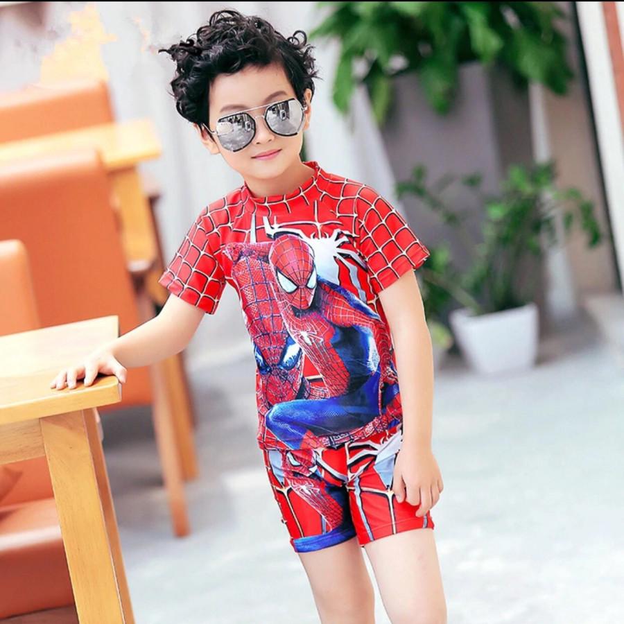 Đồ bơi bé trai hình nhện
