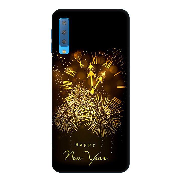 Ốp Lưng Dành Cho Điện Thoại Samsung Galaxy A7 2018 Happy New Year Mẫu 2