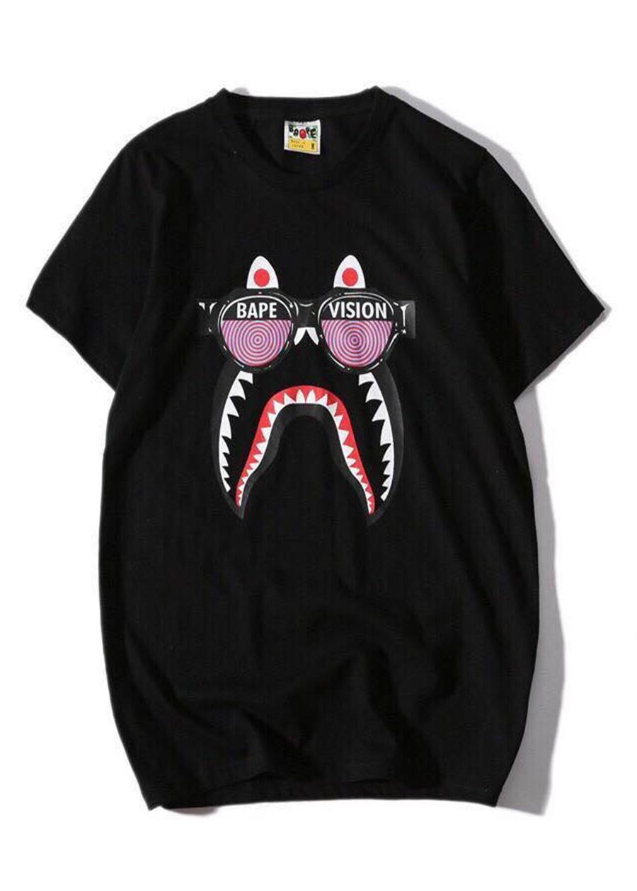 Áo thun Bape Shark - 2068695 , 4486890986345 , 62_12503388 , 200000 , Ao-thun-Bape-Shark-62_12503388 , tiki.vn , Áo thun Bape Shark