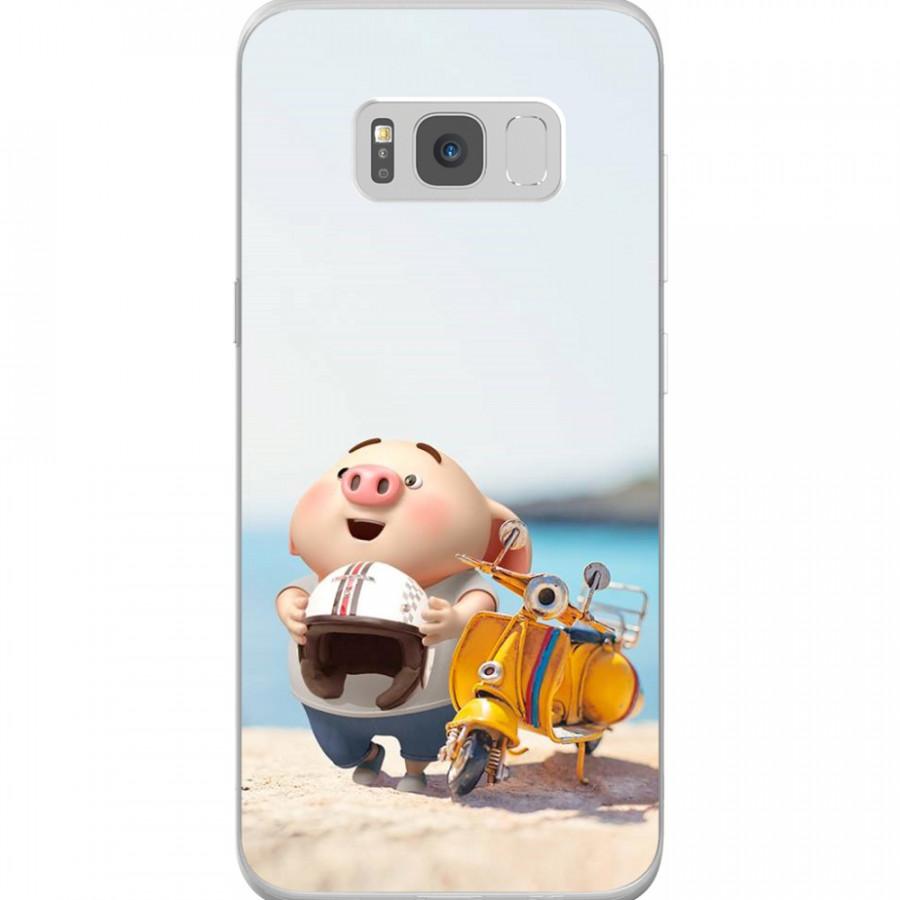 Ốp Lưng Cho Điện Thoại Samsung Galaxy S8 Plus - Mẫu aheocon 110