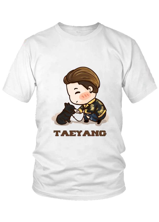 Áo thun nữ thời trang cao cấp Taeyang Chibi nhóm BigBang M5