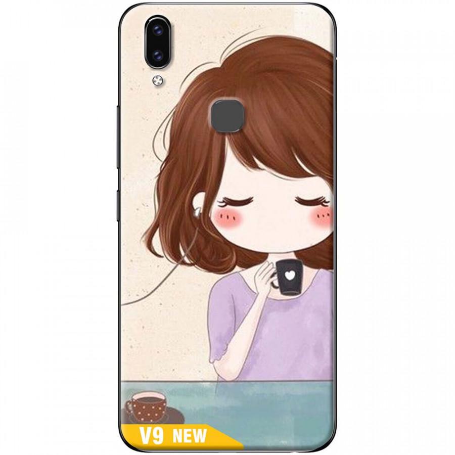Ốp lưng dành cho Vivo V9 mẫu Em alo