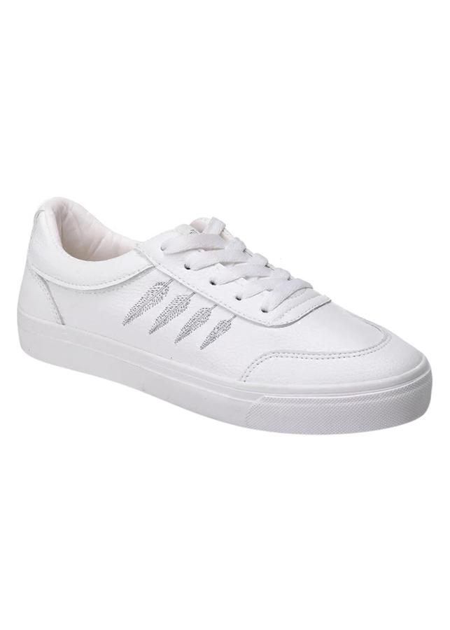 Giày Sneaker Nữ Thêu Bông Lúa  Hapu