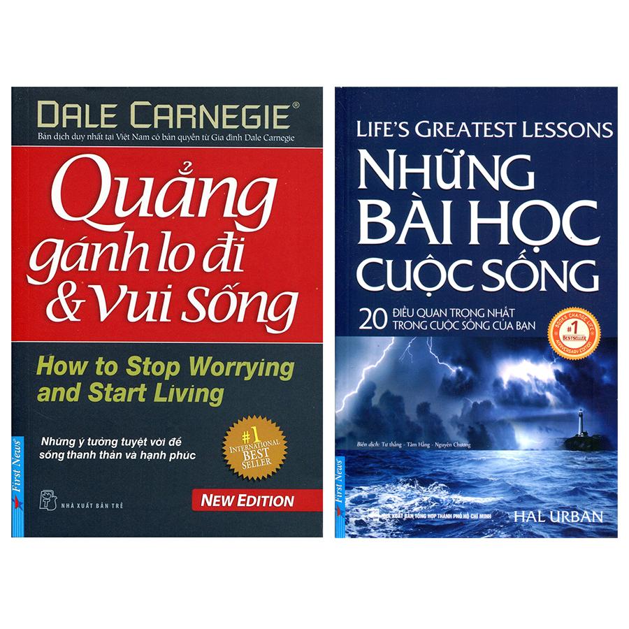 Combo Những Bài Học Cuộc Sống (Tái Bản) + Quẳng Gánh Lo Đi Và Vui Sống (2 Cuốn)