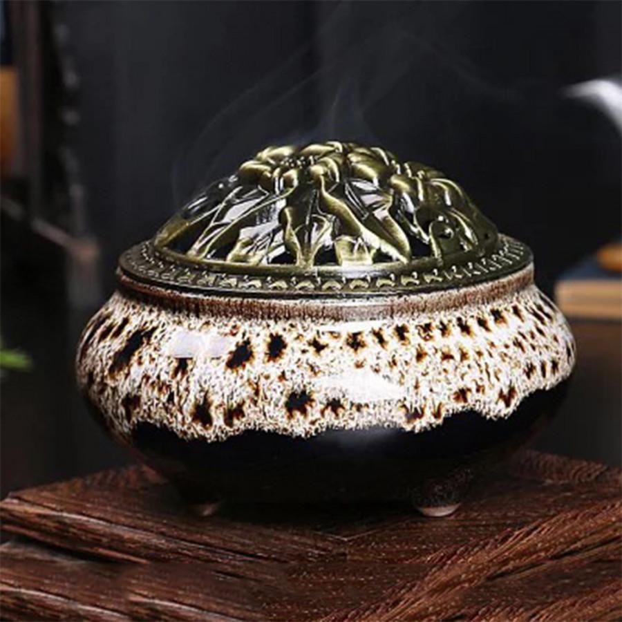 Lư xông trầm hương đỉnh đốt nhang gốm sứ - 8014645 , 5379743776134 , 62_15369843 , 139000 , Lu-xong-tram-huong-dinh-dot-nhang-gom-su-62_15369843 , tiki.vn , Lư xông trầm hương đỉnh đốt nhang gốm sứ