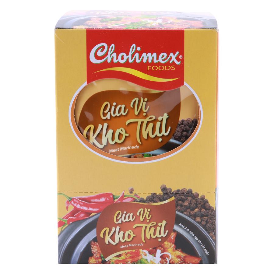 Hộp 10 Gói Gia Vị Kho Thịt Cholimex (50g / Gói) - 943920 , 8934637515496 , 62_2363299 , 65000 , Hop-10-Goi-Gia-Vi-Kho-Thit-Cholimex-50g--Goi-62_2363299 , tiki.vn , Hộp 10 Gói Gia Vị Kho Thịt Cholimex (50g / Gói)