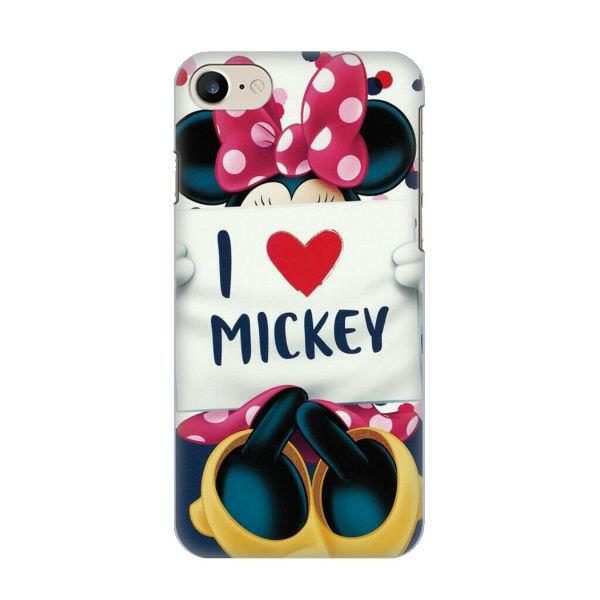 Ốp Lưng Dành Cho Điện Thoại iPhone 7 - I Love Mickey