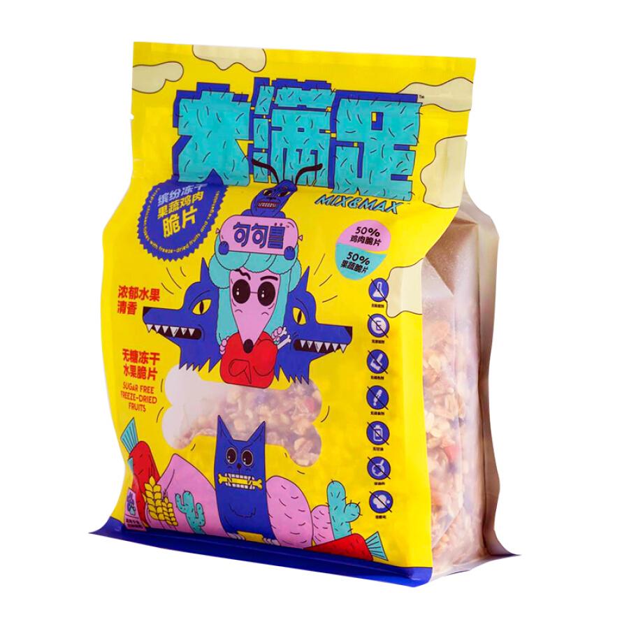 Snack Rau Củ Quả Sấy Cho Chó Mèo JUJUKONG MIXMAX