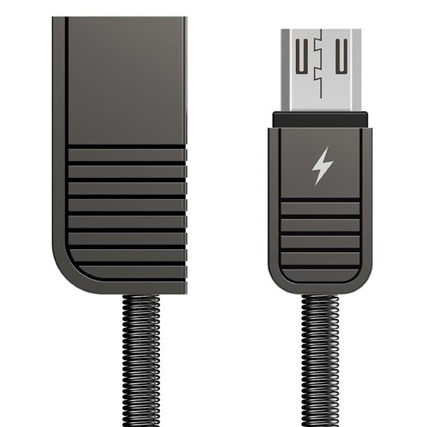 Cáp Sạc Micro USB Bọc Thép Remax RC - 088M (1m)  - Hàng chính hãng