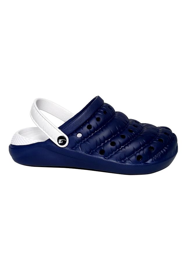 Giày nam thời trang chất liệu cao su T266K440 - Xanh đen