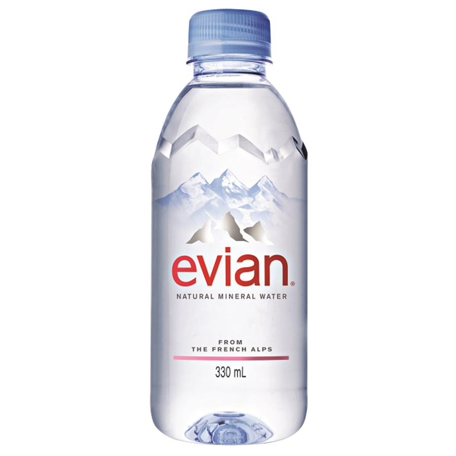 Nước Khoáng Evian Chai Nhựa (330ml)