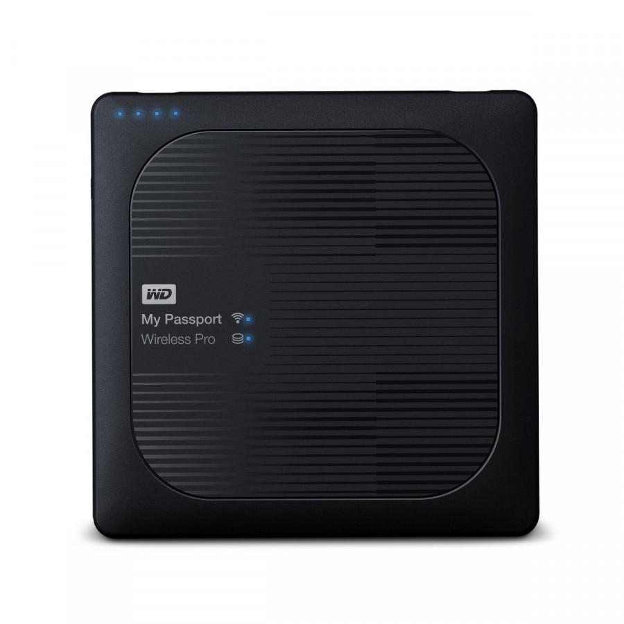 Ổ Cứng Di Động WD My Passport Wireless Pro 4TB USB 3.0 - WDBSMT0040BBK-NESN - 1562365 , 2966176521146 , 62_11601717 , 8450000 , O-Cung-Di-Dong-WD-My-Passport-Wireless-Pro-4TB-USB-3.0-WDBSMT0040BBK-NESN-62_11601717 , tiki.vn , Ổ Cứng Di Động WD My Passport Wireless Pro 4TB USB 3.0 - WDBSMT0040BBK-NESN