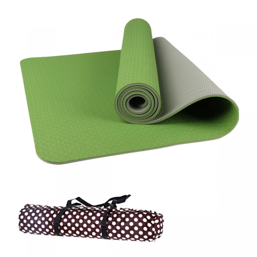 Thảm Tập Yoga Đài Loan TPE 6mm cao cấp + Túi đựng và dây buộc(màu tím,đỏ,cam,xanh lá, xanh dương) - 15979234 , 8893775831397 , 62_21559046 , 349000 , Tham-Tap-Yoga-Dai-Loan-TPE-6mm-cao-cap-Tui-dung-va-day-buocmau-timdocamxanh-la-xanh-duong-62_21559046 , tiki.vn , Thảm Tập Yoga Đài Loan TPE 6mm cao cấp + Túi đựng và dây buộc(màu tím,đỏ,cam,xanh lá,