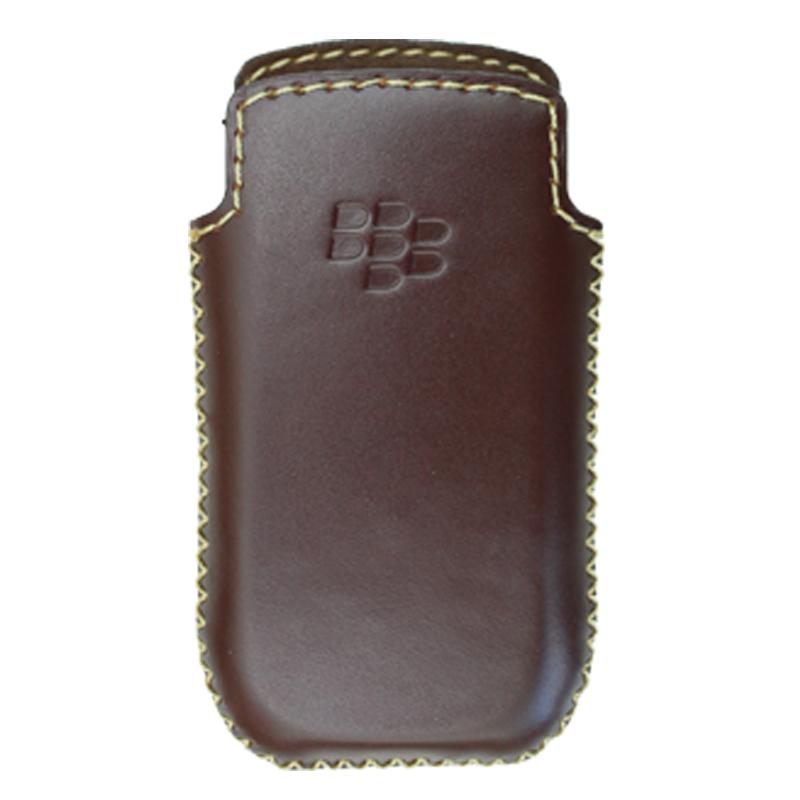 Bao Da Rút Dành Cho Black berry pearl 9100 - 9105 màu nâu