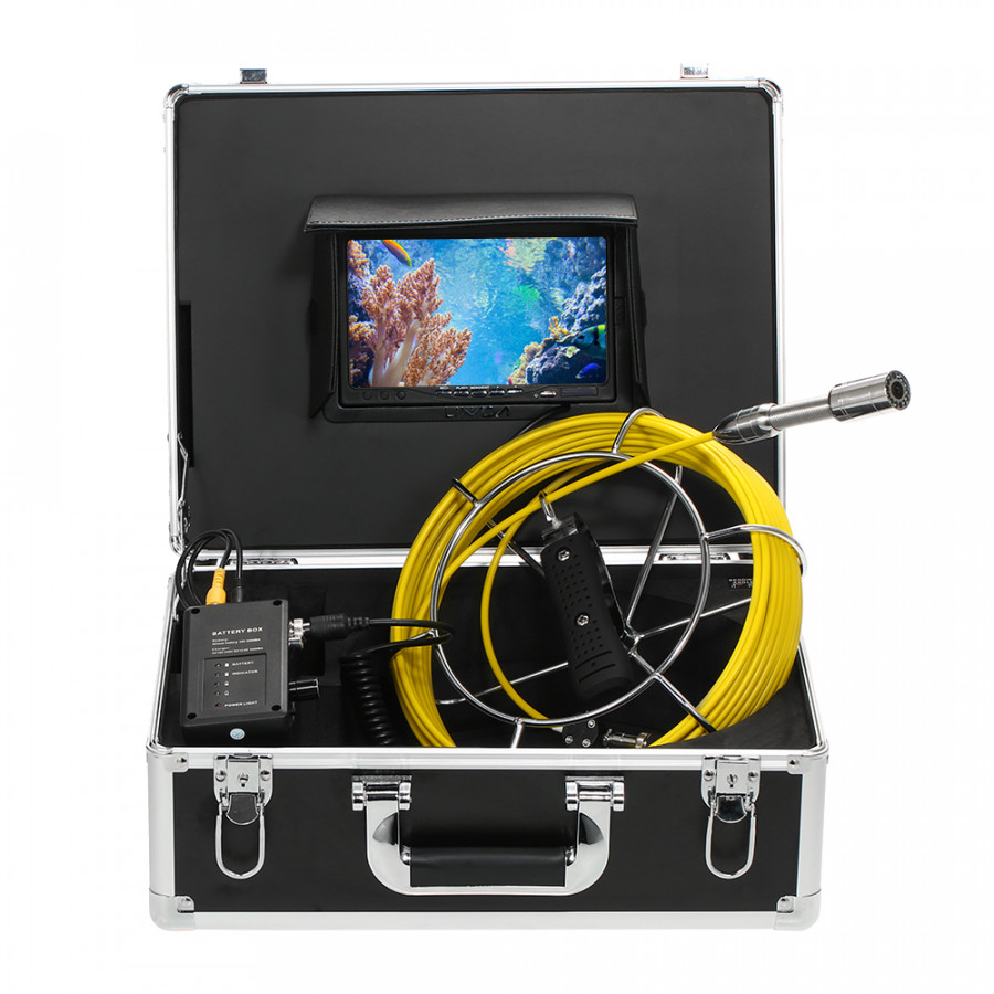 Lixada 30M Drain Pipe Sewer Inspection Camera IP68 Waterproof Industrial Endoscope Borescope Inspection System Snake - 8248270 , 4397524279484 , 62_16659836 , 9193000 , Lixada-30M-Drain-Pipe-Sewer-Inspection-Camera-IP68-Waterproof-Industrial-Endoscope-Borescope-Inspection-System-Snake-62_16659836 , tiki.vn , Lixada 30M Drain Pipe Sewer Inspection Camera IP68 Waterpro