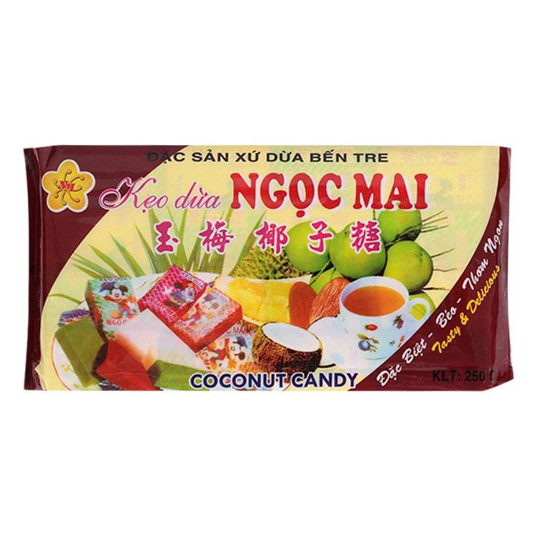 Kẹo Dừa Ngọc Mai Gói 250g