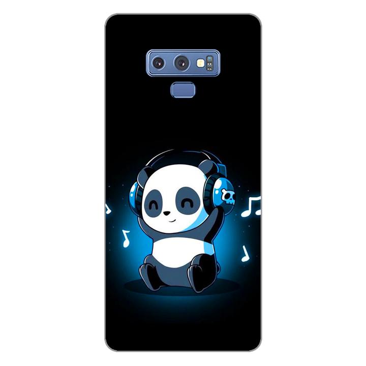 Ốp lưng dẻo cho điện thoại Samsung Galaxy Note 9_Panda 05