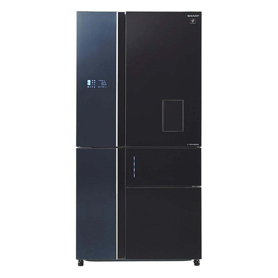 Tủ Lạnh Inverter Sharp SJ-F5X75VGW-BK (650L) - Đen - 887044 , 2573987652640 , 62_1507687 , 54000000 , Tu-Lanh-Inverter-Sharp-SJ-F5X75VGW-BK-650L-Den-62_1507687 , tiki.vn , Tủ Lạnh Inverter Sharp SJ-F5X75VGW-BK (650L) - Đen