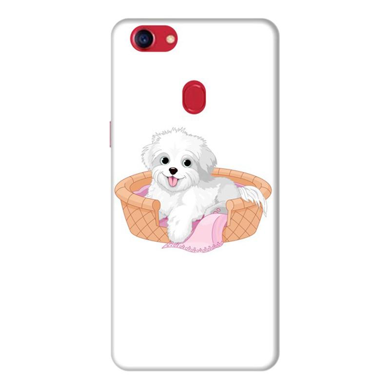 Ốp Lưng Dành Cho Điện Thoai Oppo F7 Puppy Cute - Mẫu 4