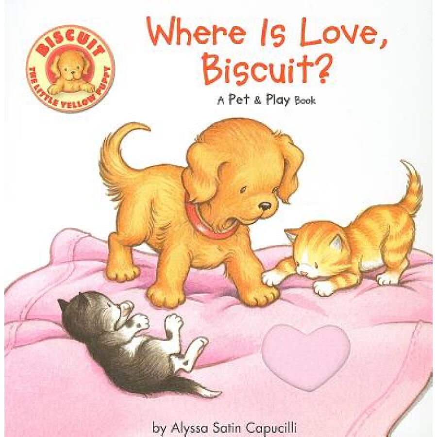 Where Is Love Biscuit?: A Pet & Play Book - 1232884 , 1681152439543 , 62_5257125 , 176000 , Where-Is-Love-Biscuit-A-Pet-ampamp-Play-Book-62_5257125 , tiki.vn , Where Is Love Biscuit?: A Pet & Play Book