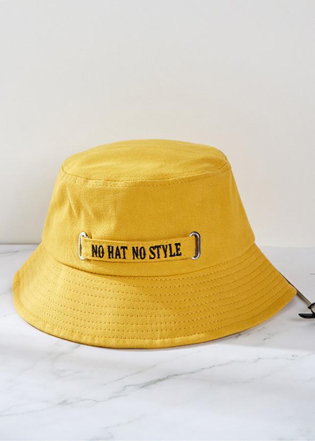 """Nón bucket """"NO HAT, NO STYLE"""" cá tính MV612 - 2343428 , 7856071458041 , 62_15242966 , 205000 , Non-bucket-NO-HAT-NO-STYLE-ca-tinh-MV612-62_15242966 , tiki.vn , Nón bucket """"NO HAT, NO STYLE"""" cá tính MV612"""