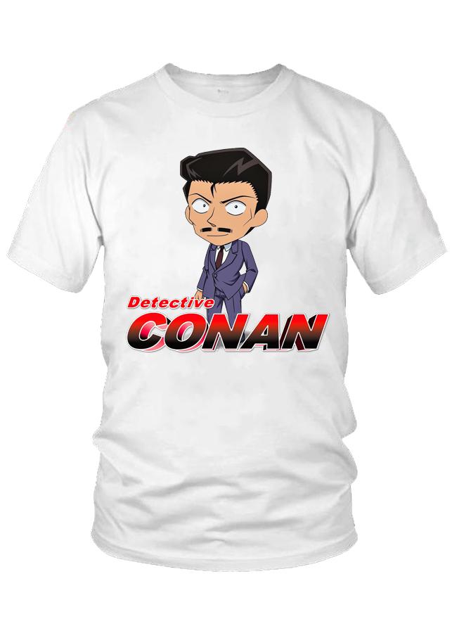 Áo thun nữ Detective Conan Kogoro Mori M23