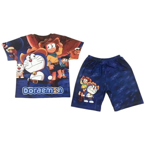 Bộ Quần Áo Trẻ Em In 3D Doraemon - 1860408 , 4112058659393 , 62_10085721 , 155000 , Bo-Quan-Ao-Tre-Em-In-3D-Doraemon-62_10085721 , tiki.vn , Bộ Quần Áo Trẻ Em In 3D Doraemon