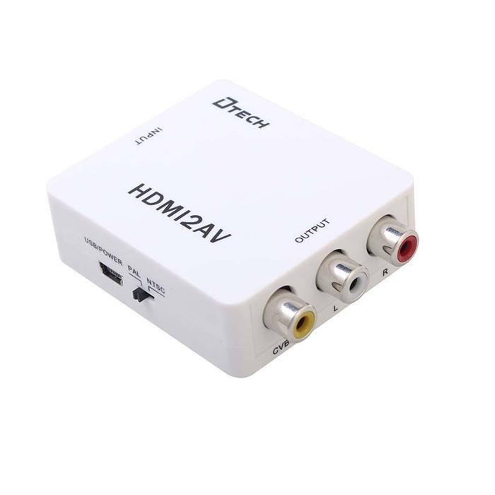 Đầu convert tín hiệu HDMI ra AV, covert HDMI to AV - Convert HDMI to AV HG32