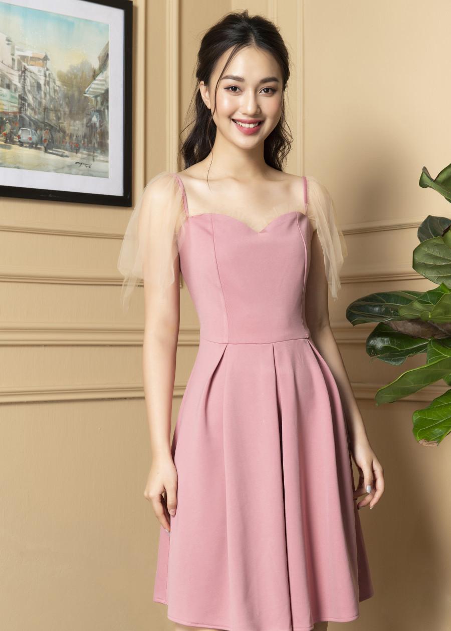 Váy tay voan  VF2019017