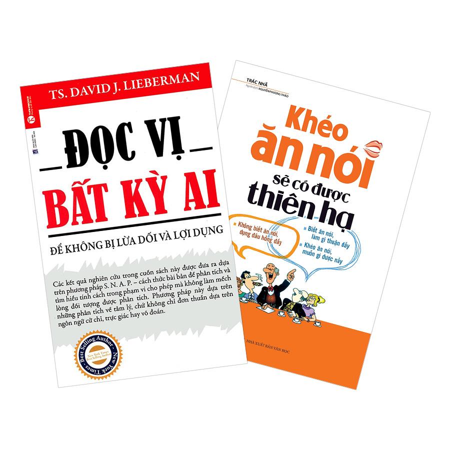 Combo Đọc Vị Bất Kỳ Ai + Khéo Ăn Nói Sẽ Có Được Thiên Hạ (Bìa Cứng) (2 cuốn)