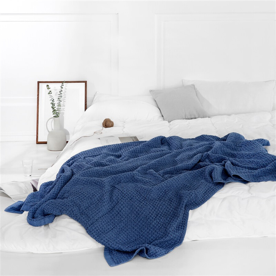 JING ZAO Waffle cotton blanket for air conditioner Summer blanket - 815429 , 1812368502749 , 62_10508973 , 877000 , JING-ZAO-Waffle-cotton-blanket-for-air-conditioner-Summer-blanket-62_10508973 , tiki.vn , JING ZAO Waffle cotton blanket for air conditioner Summer blanket