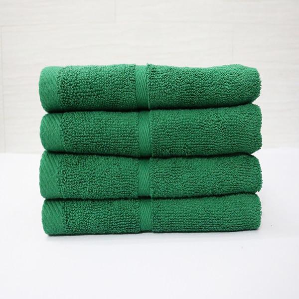 Combo 5 khăn quấn tóc, khăn mặt SPA Nam Phong - 34x80 cm - màu xanh lá