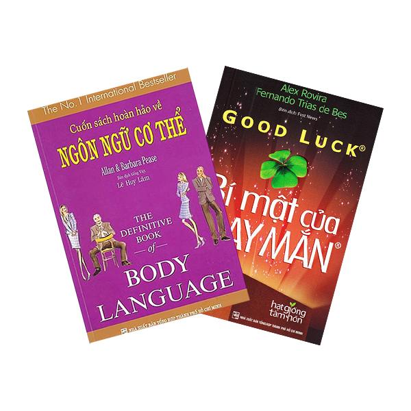 Combo Cuốn Sách Hoàn Hảo Về Ngôn Ngữ Cơ Thể - Body Language + Bí Mật Của May Mắn - Khổ Nhỏ (2 cuốn)