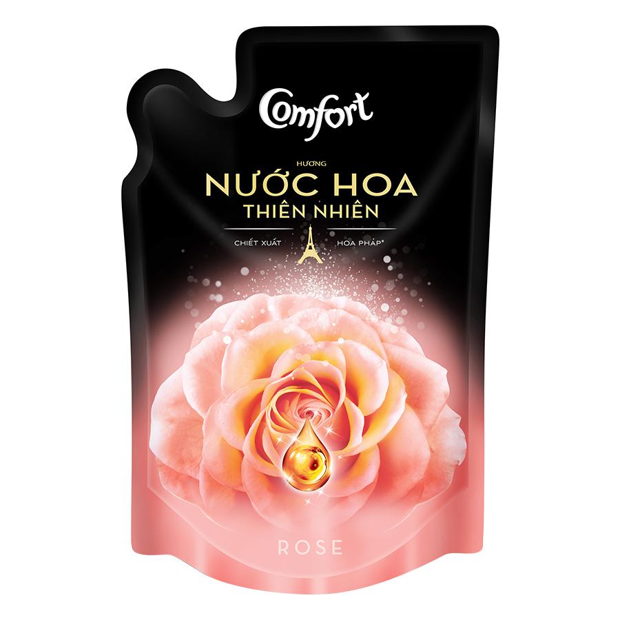 Nước Xả Vải Comfort Hương Nước Hoa Thiên Nhiên Rose 67195083 (Túi 1.6L)