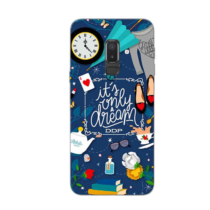 Ốp Lưng Dẻo Cho Điện thoại Samsung Galaxy J8 - Dream Girl 02