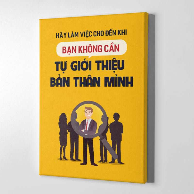 Tranh Canvas Trang Trí Mopi 444