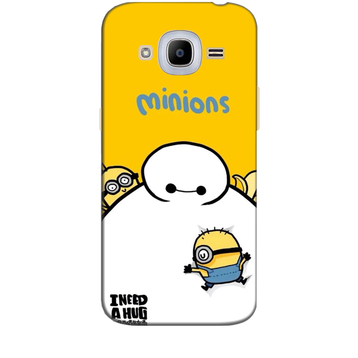 Ốp lưng dành cho điện thoại  SAMSUNG GALAXY J2 2016 hinh Big Hero Minions