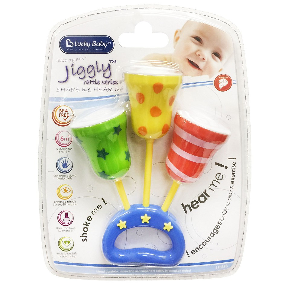 Lục lạc Jiggly Rattle Series Lucky Baby 610398