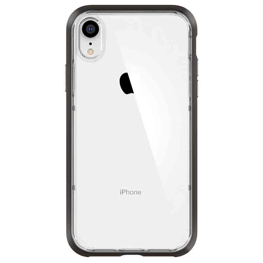 Ốp Lưng Dành Cho iPhone XS Spigen Neo Hybrid Crystal (Gunmetal - 063CS24924) - Hàng Chính Hãng