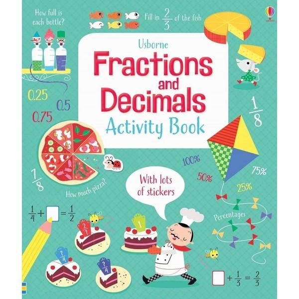 Usborne Fractions and Decimals Activity Book