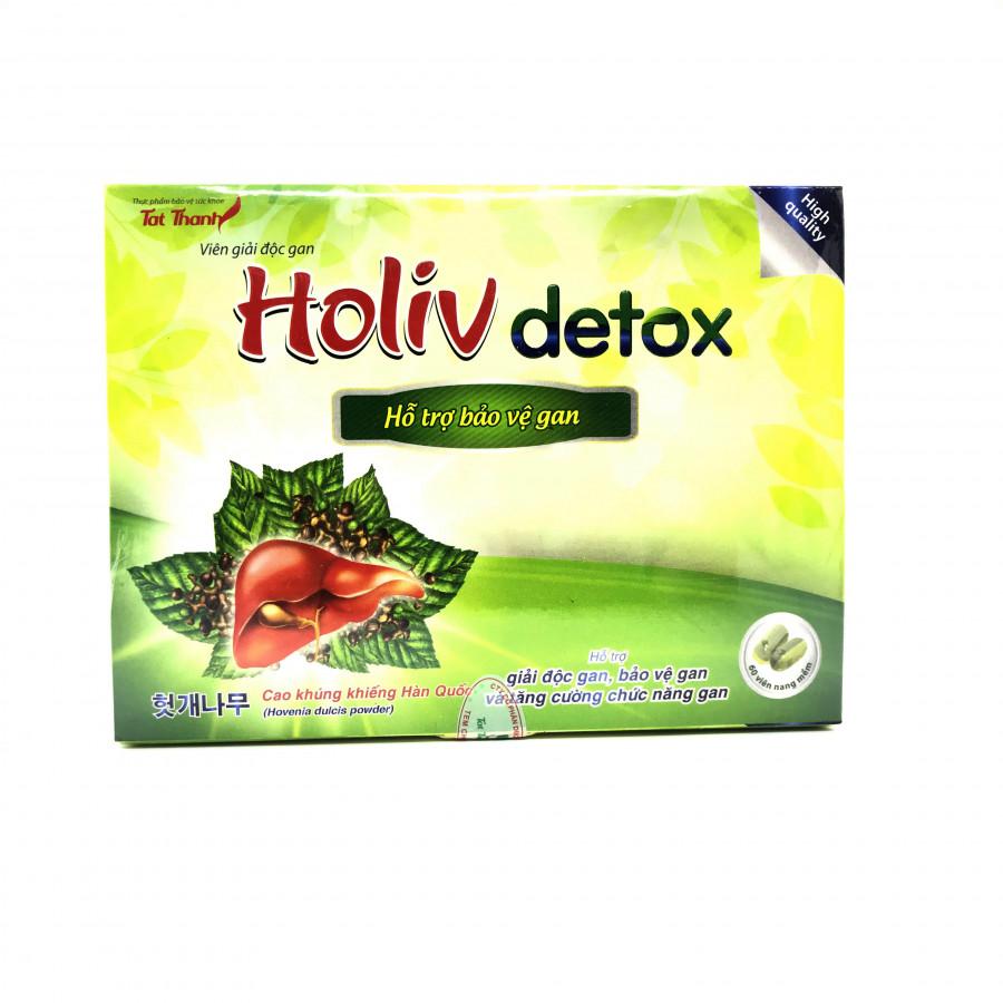 Thực phẩm bảo vệ sức khỏe Viên giải độc gan Holiv Detox hộp 60v - 7503309 , 4806338882211 , 62_16268460 , 175000 , Thuc-pham-bao-ve-suc-khoe-Vien-giai-doc-gan-Holiv-Detox-hop-60v-62_16268460 , tiki.vn , Thực phẩm bảo vệ sức khỏe Viên giải độc gan Holiv Detox hộp 60v