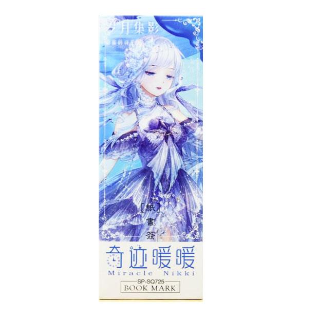 Hộp 32 Đánh Dấu Sách Bookmark  Miracle Nikki 725