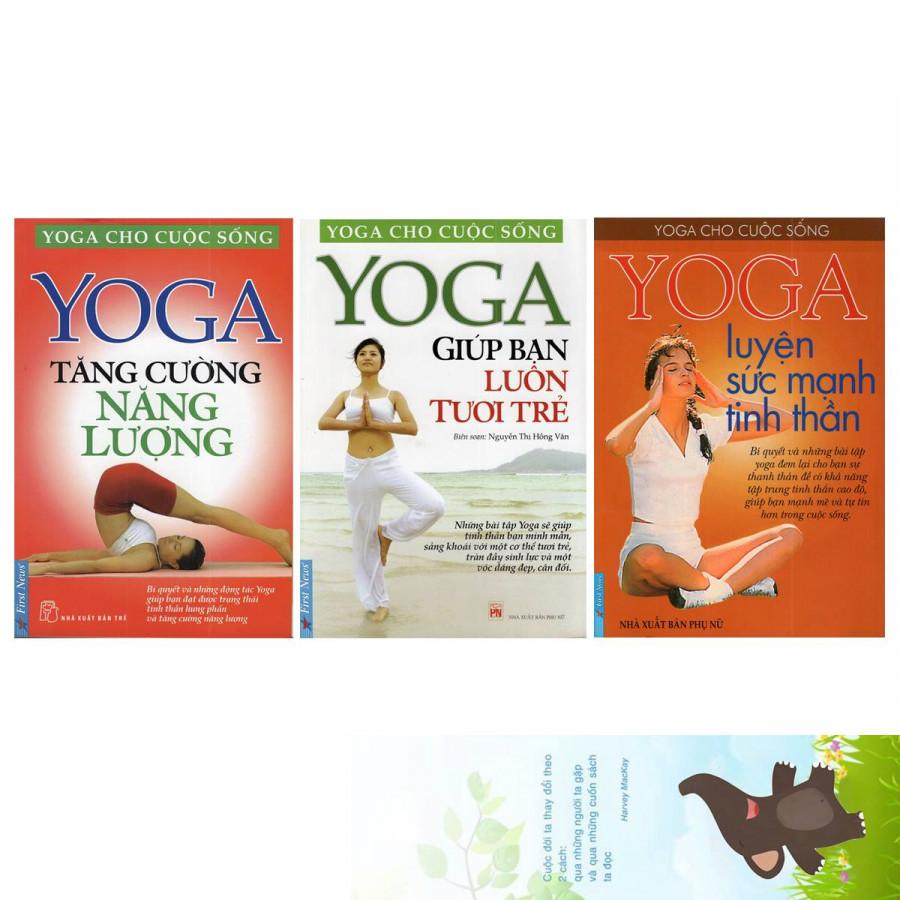 Combo sách Yoga Cho Cuộc Sống gồm 3 cuốn: Yoga Tăng Cường Năng Lượng, Yoga Giúp Bạn Luôn Tươi Trẻ, Yoga Luyện Sức... - 2002316 , 7189279685958 , 62_8162281 , 154000 , Combo-sach-Yoga-Cho-Cuoc-Song-gom-3-cuon-Yoga-Tang-Cuong-Nang-Luong-Yoga-Giup-Ban-Luon-Tuoi-Tre-Yoga-Luyen-Suc...-62_8162281 , tiki.vn , Combo sách Yoga Cho Cuộc Sống gồm 3 cuốn: Yoga Tăng Cường Năng Lư