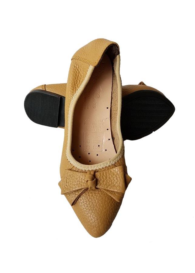 Giày Búp Bê BIGBEN Da Bò Thật BB04