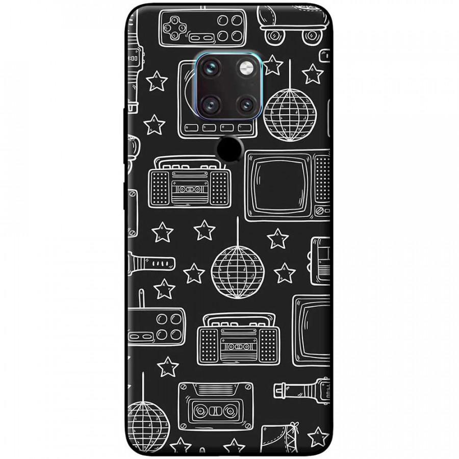 Ốp lưng dành cho Huawei Mate 20 mẫu Đồ điện tử