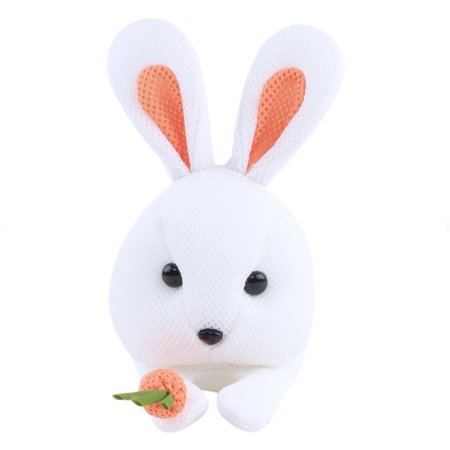 Thỏ Nhồi Bông Phối Cà Rốt U  Yaby - 043/6 (Trắng)