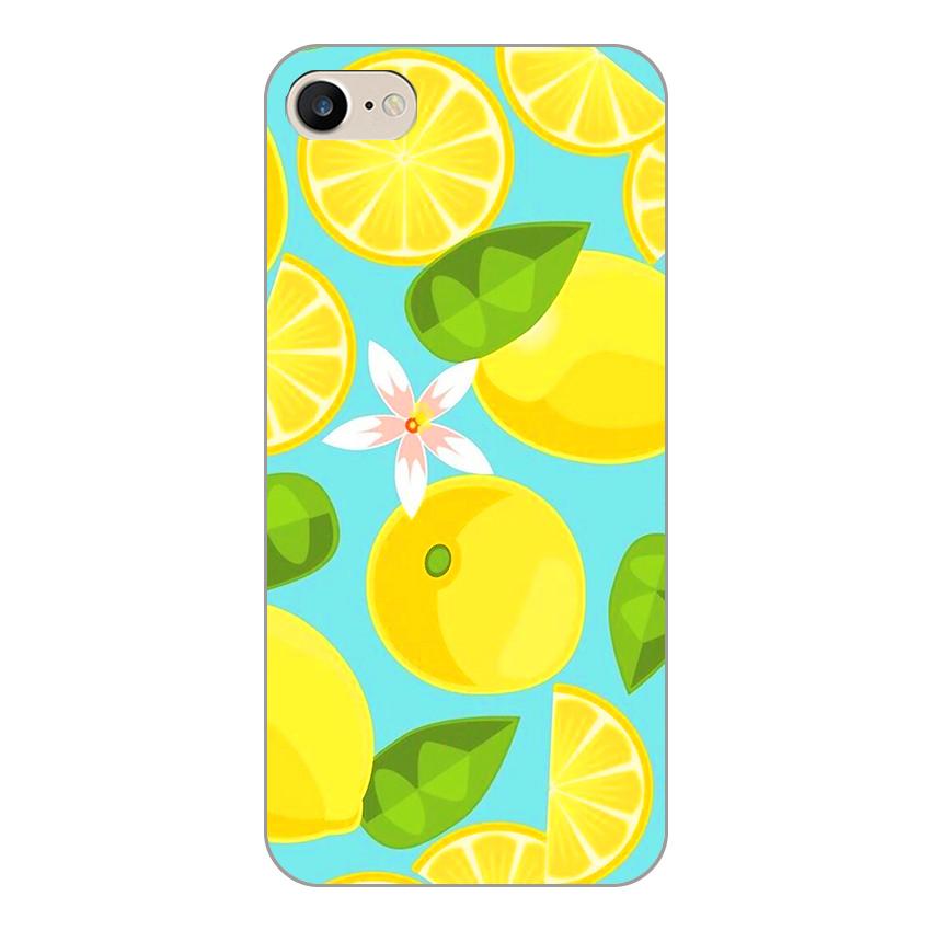 Ốp lưng dẻo cho Apple iPhone 5 / 5s _Lemon 01
